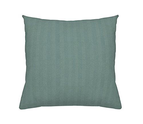 MAISON DECOR Chelsea Cojín, Poliéster, Verde, 45.0x15.0x45.0 cm