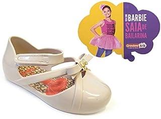SAPATILHA BARBIE BALLET BABY 21471 GRENDENE - BEGE