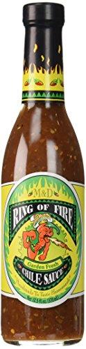 M&D Ring Of Fire – Garden Fresh Chile Hot Sauce – 370ml