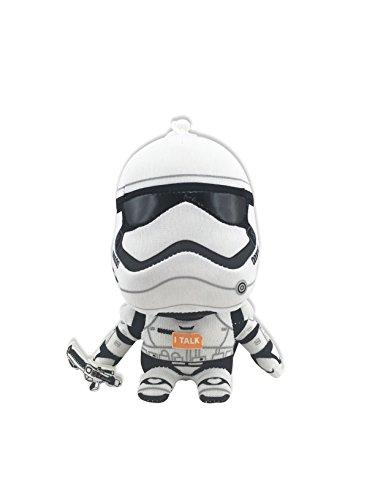 Star Wars sw02529–ugt Mini Figuras de Peluche con Sonido y Colgante, Stormtrooper