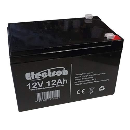 12V 12AH batteria ricaricabile al piombo VRLA Faston F2 6.35mm Per allarmi antifurti, sistemi di sicurezza, Batterie di ricambio per UPS USV, Solar, Solarpanel