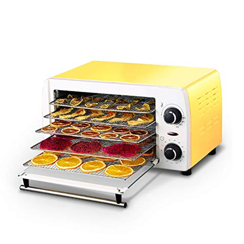 Review Dehydrator • Automatic Dehydrator • Fruit Dryer • 5 Layer • 300w • Adjustable Tempe...