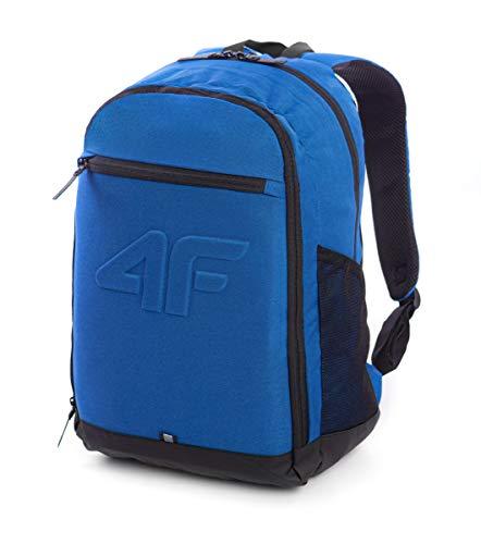 4F Unisex-Child Academy Team Travel Accessory- Luggage Tags, Blau, Einheitsgröße
