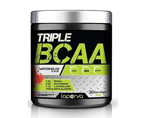 Laperva Triple Pure Amino Acid Zero Fat, Zero Carbs and Zero Sugar BCAA Amino Acid - Watermelon Flavor 420g