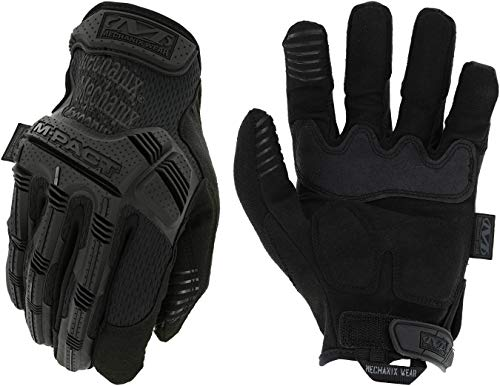 Mechanix Wear - Guantes M-Pact Covert (Medio, Negro)