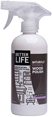 Product Image of the Better Life Natural Wood Polish, Cinnamon and Lavender, 16 Ounce, 24195