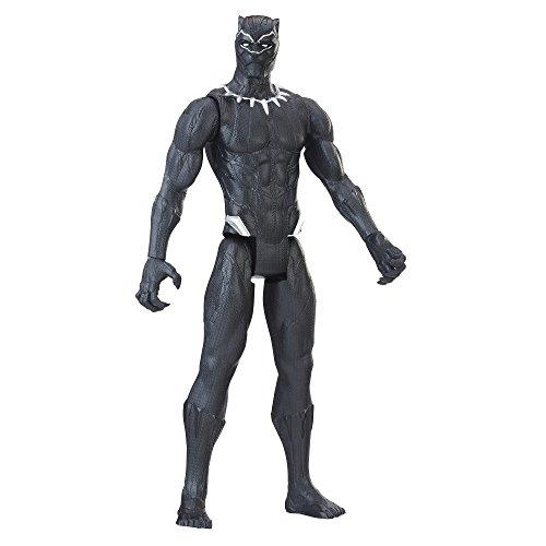Figurine de la Panthère Noire de la Série Titan Hero Series - 0