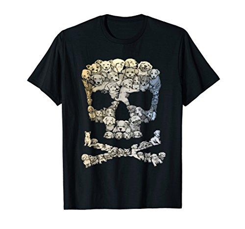 Skull Crossbones Sugar Dog In Skull Pets Love T-shirt