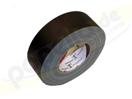 Gerband 258 mattschwarz, Gewebe, 50mm x 50m, 1 Rolle, 25800520