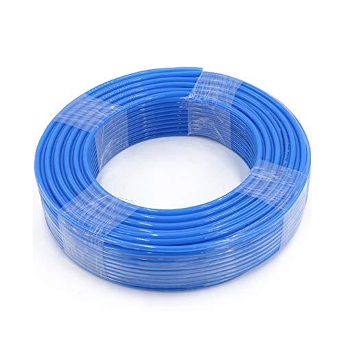 Jackbaggio Manguera De Aire De Poliuretano Para Compresor De Aire Industrial (Azul,8x5)
