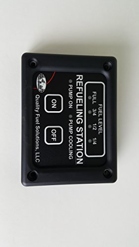 Toy Hauler RV Refueling Tank Fuel Pump Control Panel Switch
