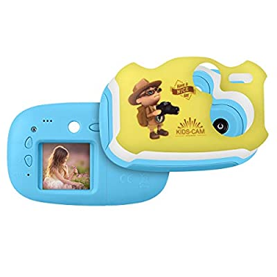 Upgrow Creative Kids Digital Camera Mini 1.44 Inch Screen 1080P HD Video Action Camera Camcorder for Children Boys Girls (3 AAA Batteries Included, SD card not included)