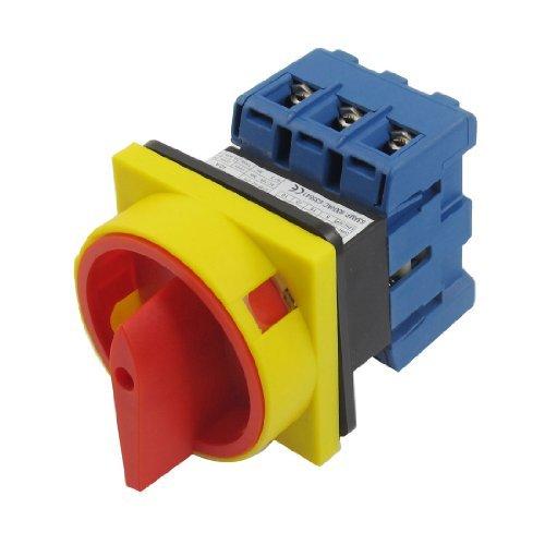 Ui 600V Ith 40A ON/OFF Posición 3 fase Interruptor de conmutación de leva rotativa