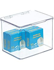 mDesign Plastic Bureau Organizer Bin Box voor Home Office