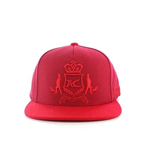 King Apparel Dappa Cap Red Snapback Baseball Cap Size Adjustable