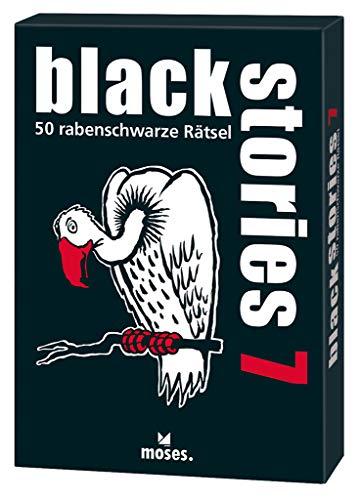 black stories 7: 50 rabenschwarze Rätsel