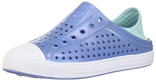 Skechers Girls' Guzman Steps Water Shoe, Lavender/Mint, 2 Medium US