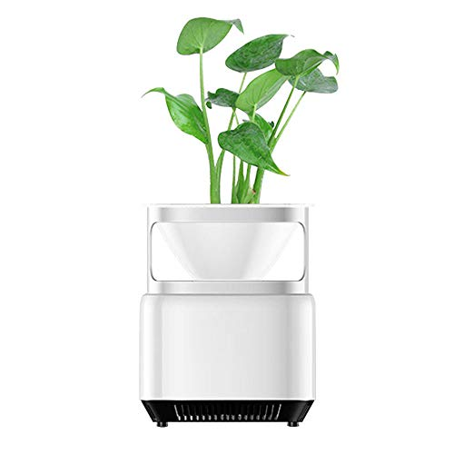 Air Purifier Smart negatieve ionen generator Split Structure Three-Layer Filtratie met een Tribune van de bloem Plantable planten die gebruikt worden in het kantoor om effectief te verwijderen