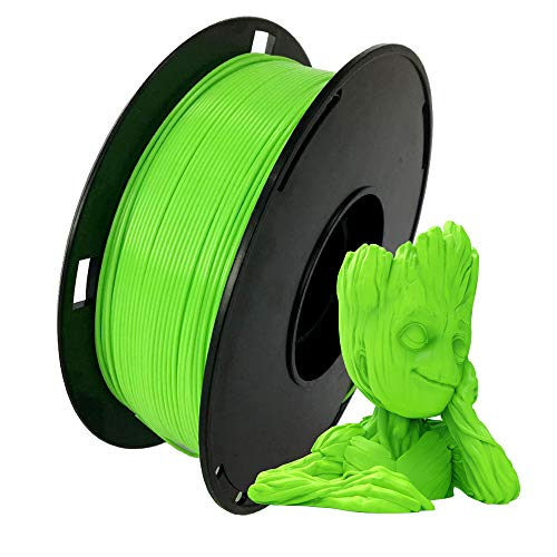 NOVAMAKER Green ABS Filament 1.75mm With 1kg Spool(2.2lbs), Dimensional Accuracy +/- 0.03mm, For FDM 3D Printer and 3D Pen