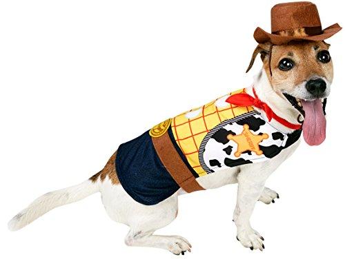 Rubie's 3580210 - Woody hondenkostuum, geel/bruin