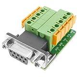 BeMatik - Adaptador de conexión Serie DB9-hembra a Bloque de terminales de...