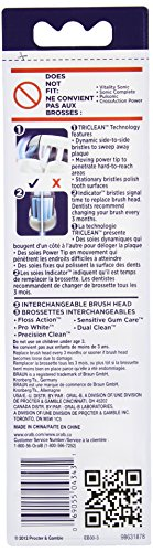Oral-B Deep Sweep Electric Toothbrush Replacement Brush Heads Refill, 3 Count