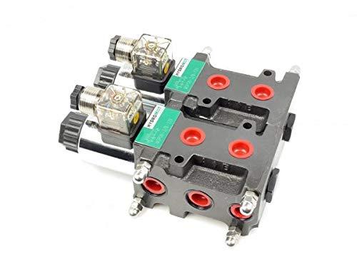 Magnetventil (Umschalt-/Wegeventil), 8/3, 1/2'', 60 Liter/min Größe 12V