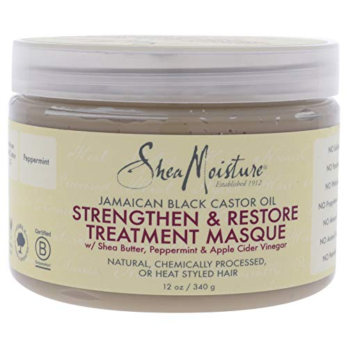 SHEA MOISTURE STRENGTHEN & RESTORE TREATMENT MASQUE 340G