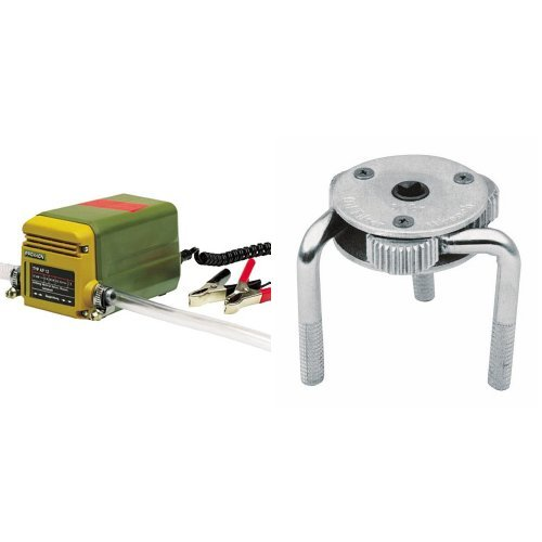 Proxxon 25262 Ölabsaugpumpe und Cartrend 50178 Ölfilterschlüssel - Spinne
