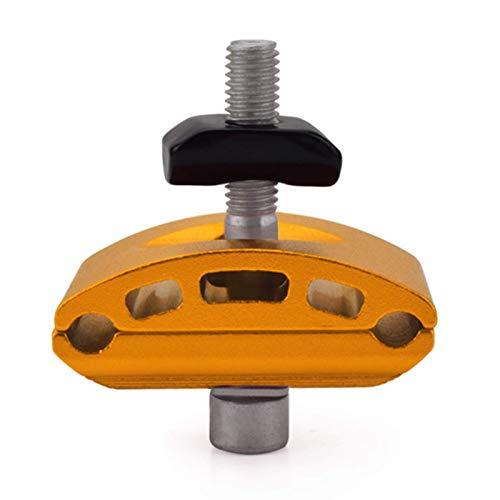 Fuerte y Resistente 1 Juego de Abrazaderas para tija de sillín de Bicicleta Tornillo de Tubo de sillín de Cabeza Reparación de Tubo de Asiento Portaherramientas de Bicicleta Color Opcional Fácil de