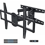 Mounting Dream TV Wall Mount Swivel and Tilt for Most 42-75 Inch TVs, Full Motion TV Mount TV Bracket with Articulating Arms, Max VESA 600x400mm and 100 LBS Loading, Fits 16