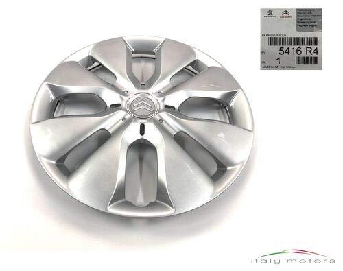 Citroen Original C1 Radkappe Radblende Radzierblende 14 Zoll Silber 5416R4