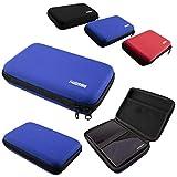 caseroxx GPS-Case para Garmin Camper 770 LMT-D, (GPS-Case con Cremallera y elástico en Azul)
