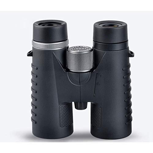 SCWYJ Prismáticos de Prisma de Techo for Adultos 10x42, binoculares Profesionales de Alta definición for observación de Aves, Viajes de observación de Estrellas, Deportes, Lentes de Prisma
