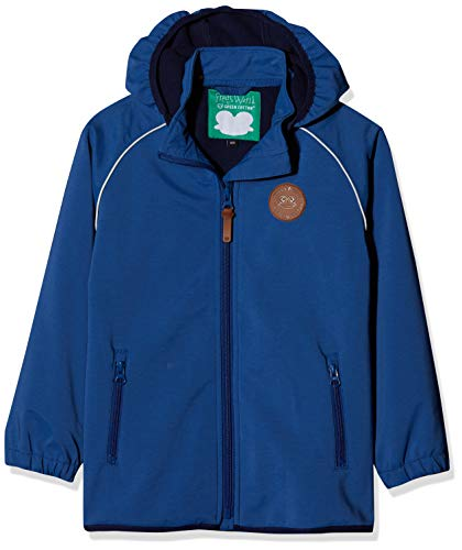 Fred's World by Green Cotton Jungen Softshell Jacket Boy Jacke, Blau (Blue Ocean 019404401), 104