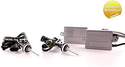 DDM Tuning Plus 35W Premium HID kit, Slim AC Ballasts w/Hi-Output Bulbs, H11, 5500K