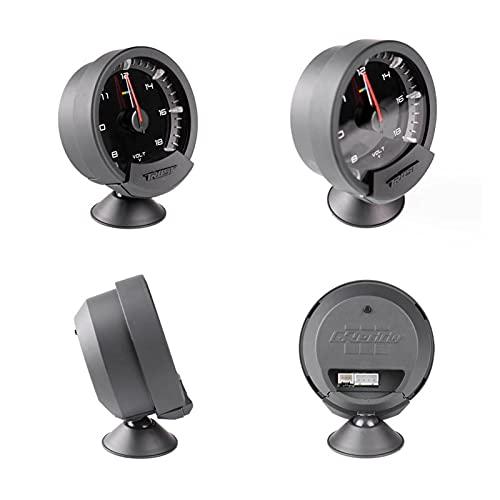 HUIHUI Store Meter Series Trust 74mm 7 Colores Temp Temp Oil Temp Oil APETE Prensa Turbo Boost AUTOMO AUTOMÁTICO Meter con SENSORES (Color : Water Temp)