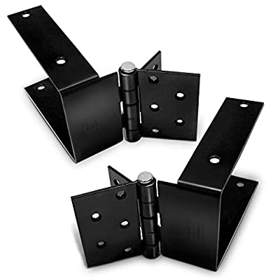 Wood Fence Gate Hinge - Build A Wood Gate The Easy Way - One Person Install