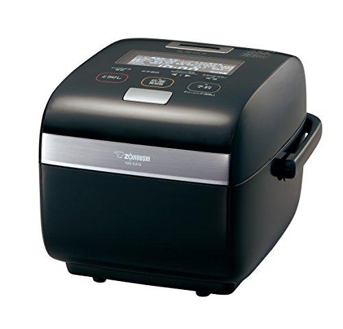 象印 炊飯器 5.5合 圧力IH式 炎舞炊き プライムブラック NW-KA10AM-BZ