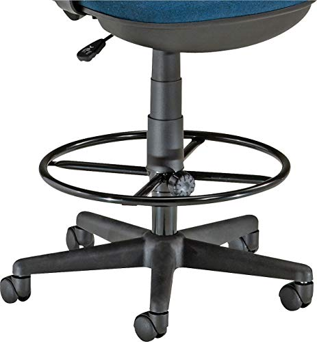 """OFM Core Collection Stool Drafting Kit, 19"""" Diameter Foot Ring, 9"""" and 12"""" Extenders, Black"""