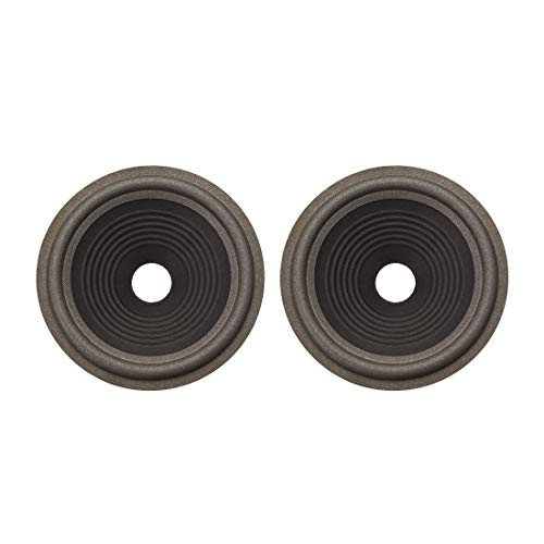 Review uxcell 8 inches Paper Speaker Cone Subwoofer Drum Ripple Paper 1.4 inches Coil Diameter with ...