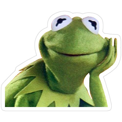Rangerpolocon Kermit Aufkleber (3 Stück/Pack) 5345166872801