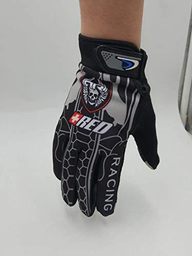 Huore Handschuhe Reiten Rennsport Atmungsaktiv rutschfeste Touchscreen-Handschuhe Ice Silk Sunscreen Dünne Outdoor-Sporthandschuhe, Grau, Einheitsgröße