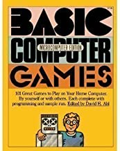 basic computer games microcomputer edition