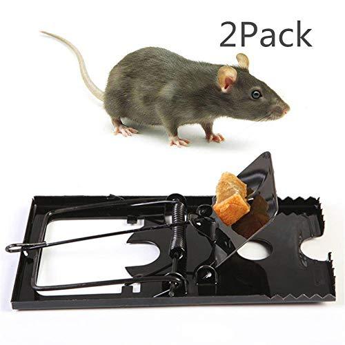 VPlus Lot de 2 pièges réutilisables pour Souris et Rats