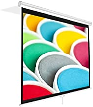 """Pyle PRJSM7206 Universal 72-Inch Roll-Down Pull-Down Manual Projection Screen (42.5"""" x 56.6"""") Matte White"""