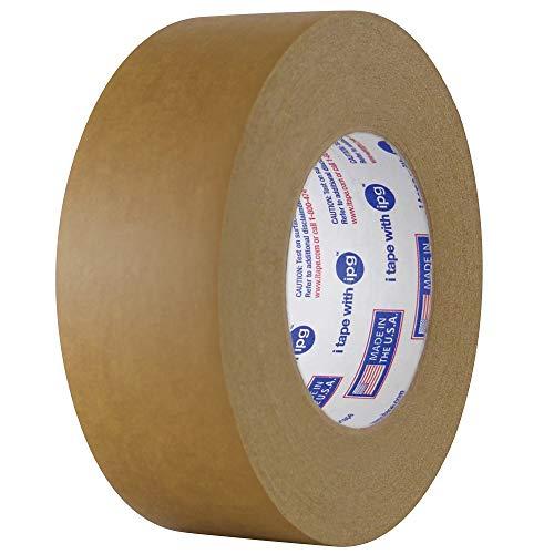 IPG 539 Medium Grade Flatback Tape, 18mm x 54.8m, Brown, (48-Pack)