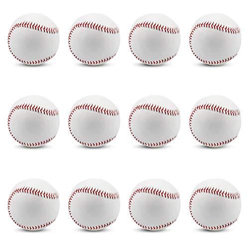 野球 硬式ボール 練習球 野球 練習球 バッティング練習 キャッチボール トスバッティング マシン対応 【12個入り/1個入り】 (12-1)