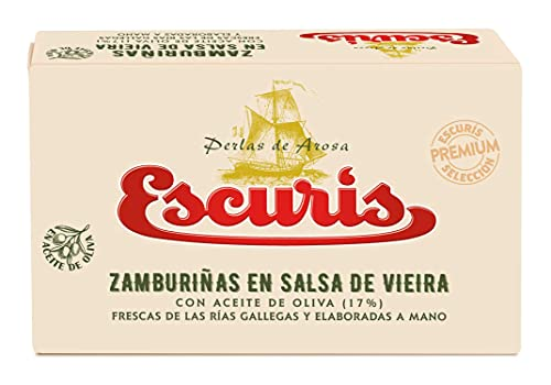ZAMBURIÑAS ESCURIS EN SALSA VIEIRA 6/8 R-120