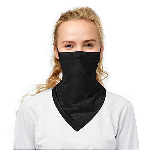 Gogoings Multifunzionale Bandana Maschera di Protezione Lavabile Traspirante Riutilizzabile Balaclava Copricapo di Protezione UV Sciarpa Maschera Viso per Moto da Corsa Escursionismo Pesca Yoga